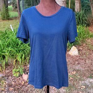 Asos Navy Blue Cotton TShirt